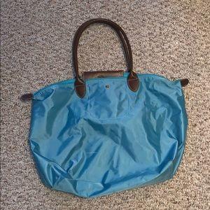 Light Blue Longchamp Bag